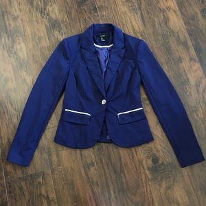 3/$25 Forever 21 Navy Blue Blazer